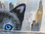 SF Divisadero Giant Cats mural02