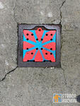 SF Divisadero pattern on drain cover 01