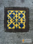 SF Divisadero pattern on drain cover 02