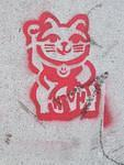 SF Lower Haight High Good Luck Cat