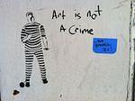 SF Upper Haight Art Not Crime