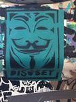 SF Upper Haight Occupy Disobey sticker