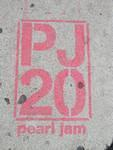 SF Upper Haight PJ20 Pearl Jam advert