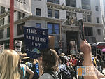 SF Protest Climate Strike 2019 Running Out