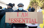 SF Protest I Am Essential