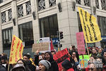 SF Protest J20 flags BLM
