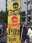 SF Embarcadero Critical Mass banner