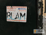 SF Financial District BLAM sticker