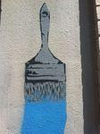 SF Tenderloin paint brush