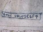 SF Mission Caledonia St. love yourself
