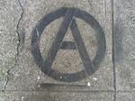 SF Mission Circle A anarchist
