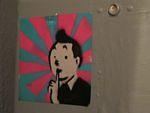 SF Mission SycamoreBar tintin sticker