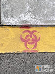 SF Mission biohazard logo