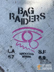SF NoPa BAG RAIDERS band advert