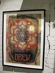 Shepard Fairey OBEY cut out