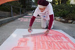 CA Stencils Against Fracking 01