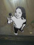 IL Chicago lollipop pasteup