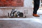 NYC Banksy spoof photo J Rojo for BSA