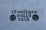 NYC if waiters could talk