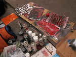 Occupy WallSt stencils